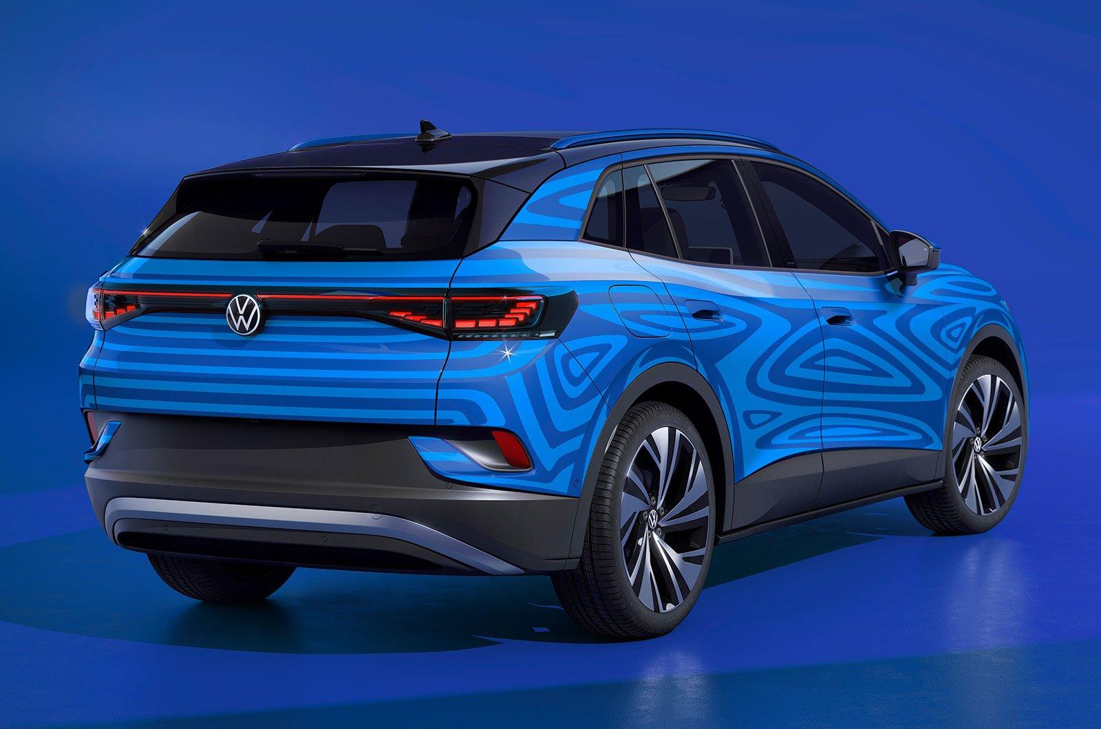 Volkswagen ID 4 rear