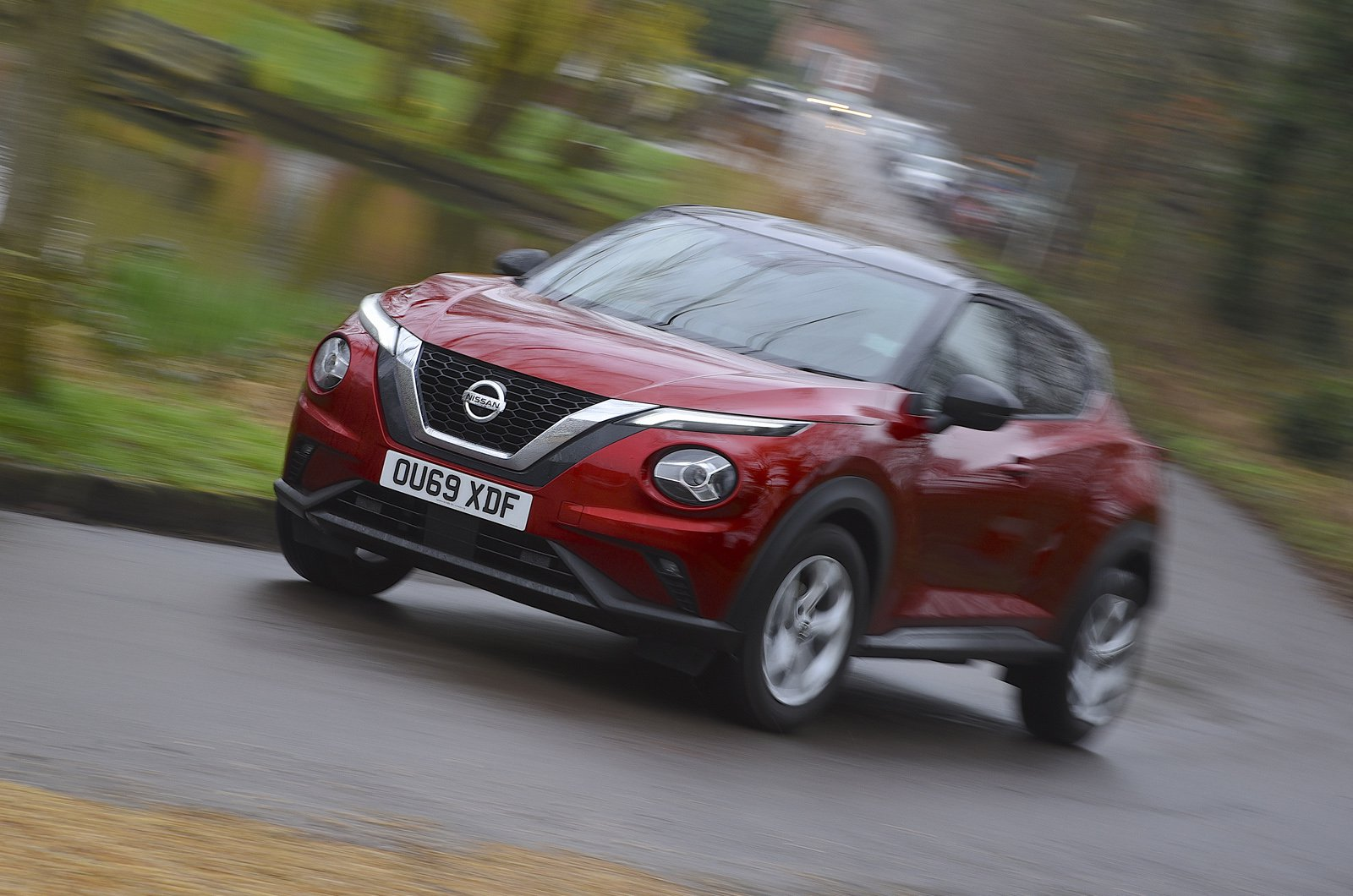 Nissan Juke long-term tracking