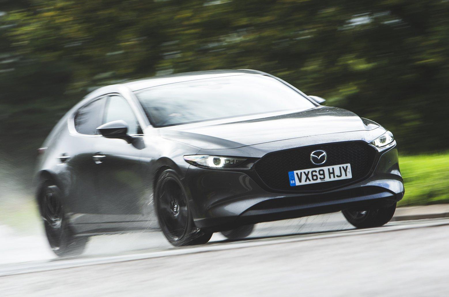 Mazda 3 front grey