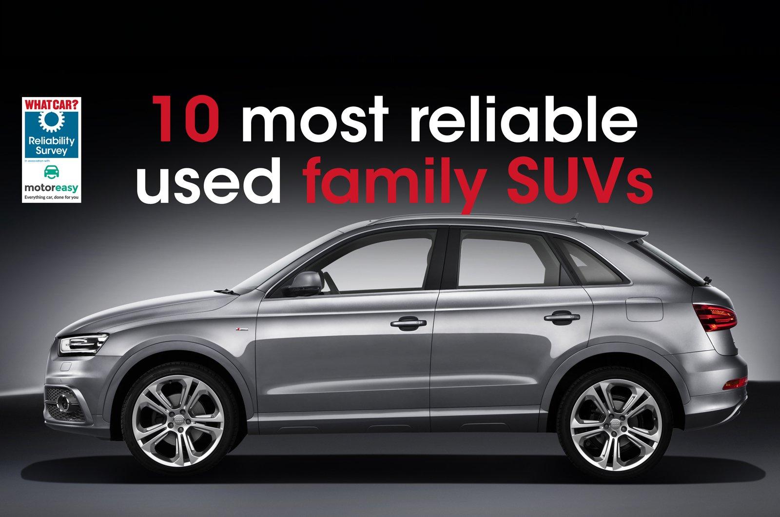 Top 10 most reliable used family SUVs