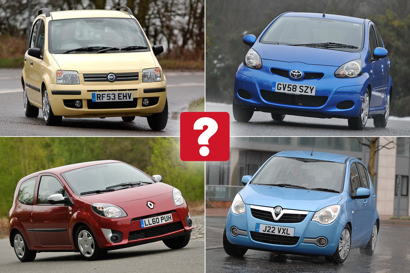 Best used city cars for less than £2000