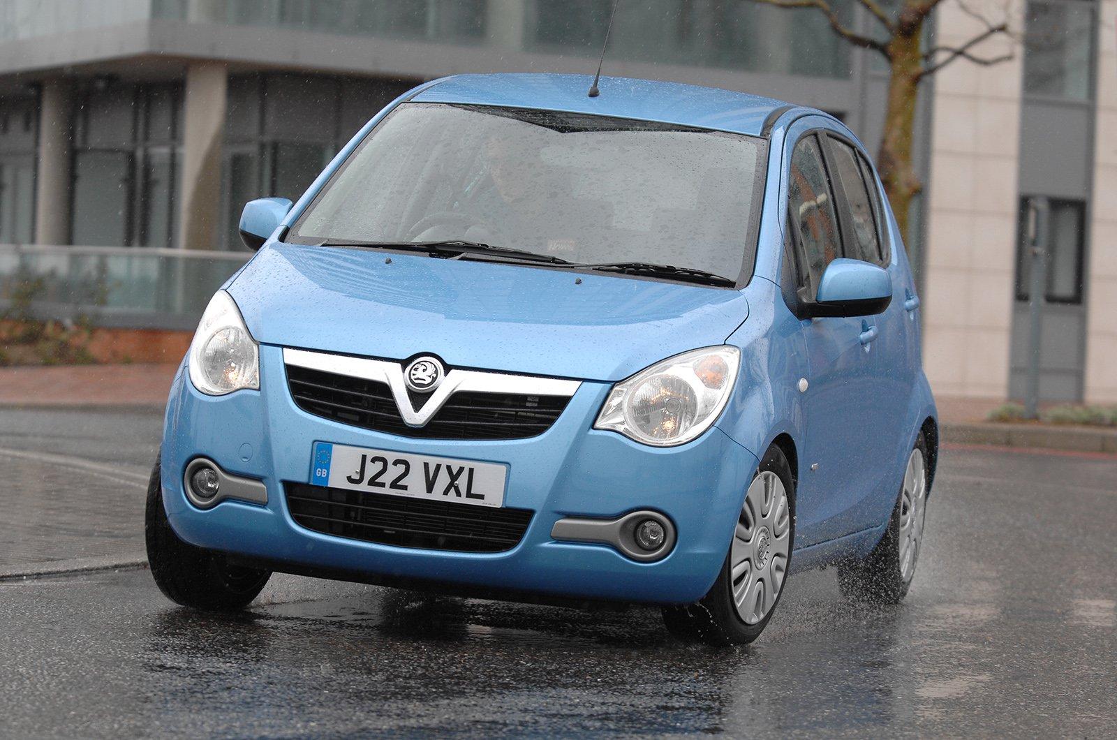 Vauxhall Agila 2008-2013