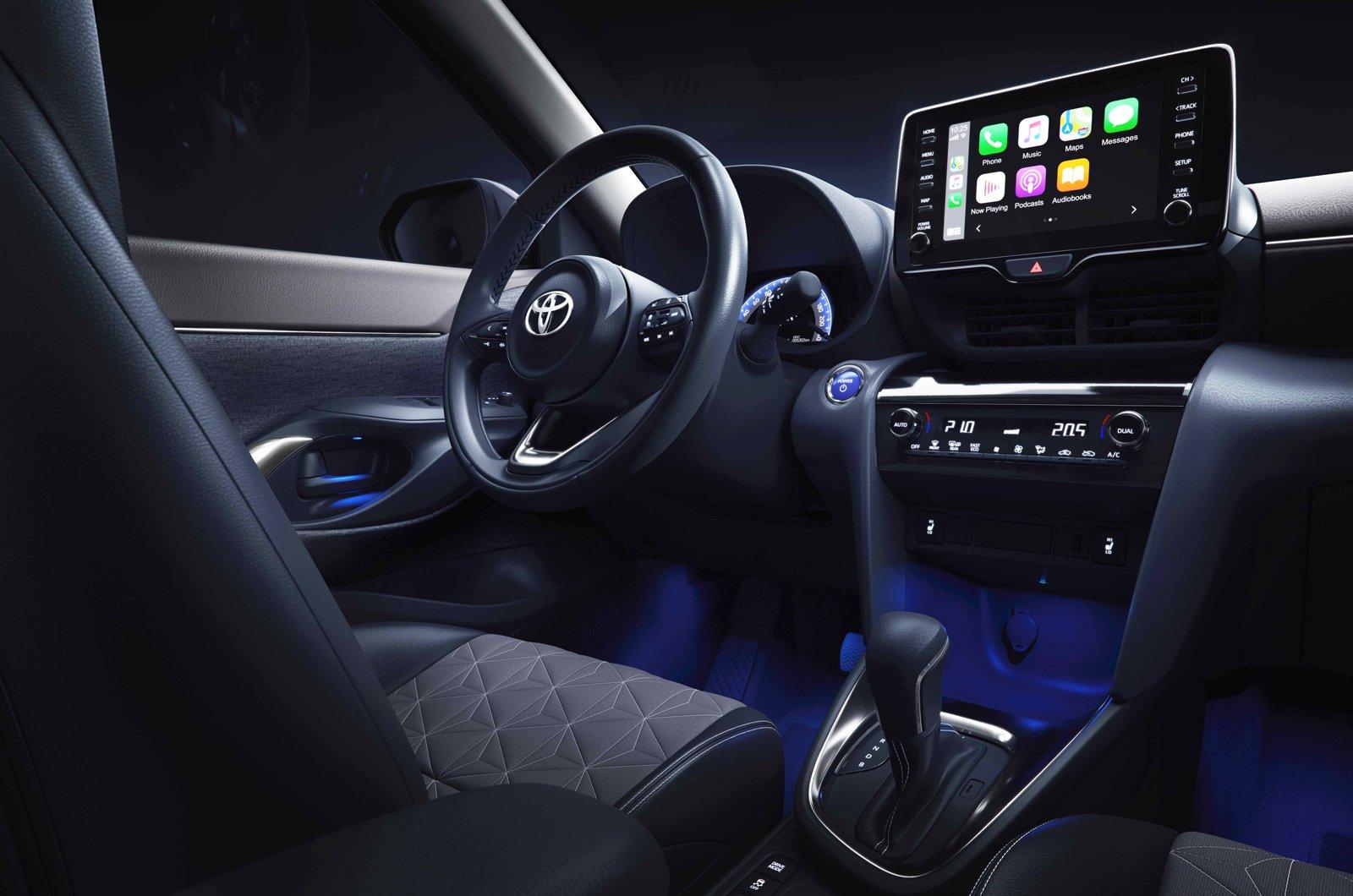 2021 Toyota Yaris Cross dashboard