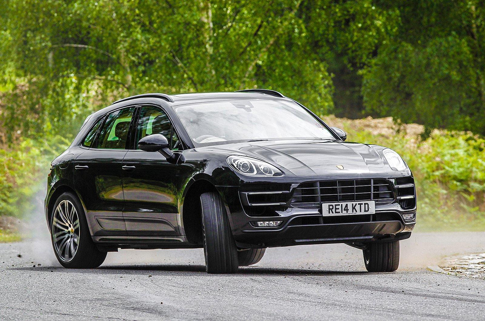 Porsche Macan front three quarters