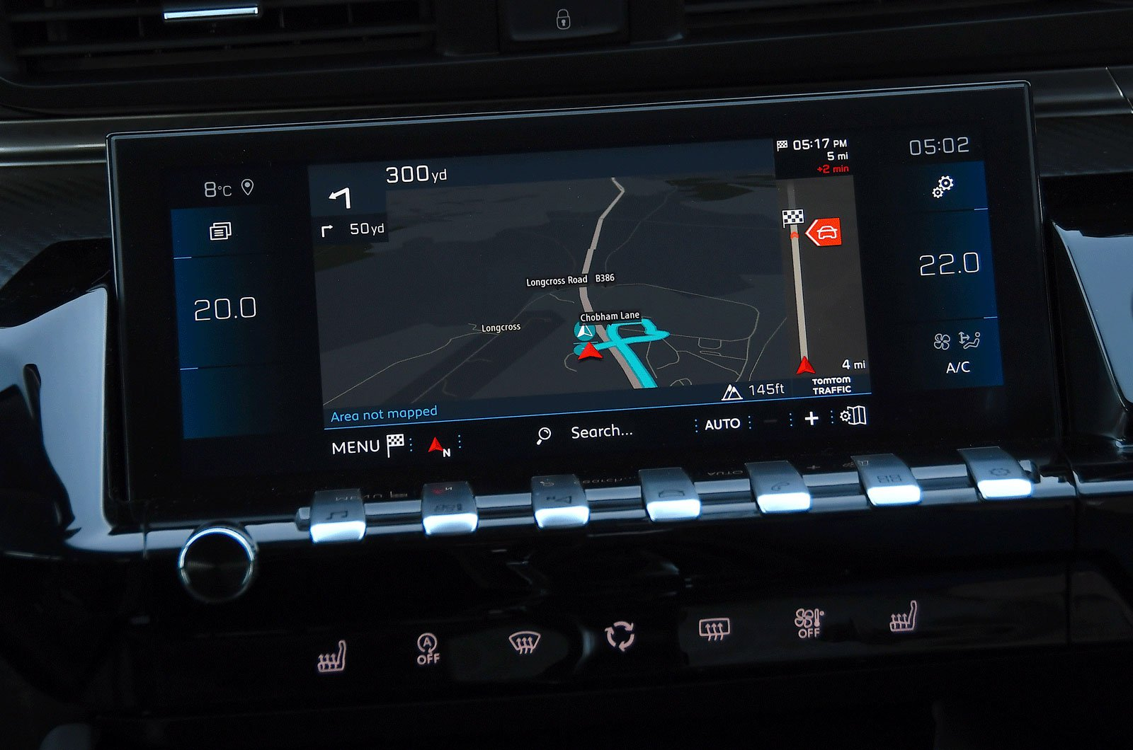 Infotainment test Peugeot 508