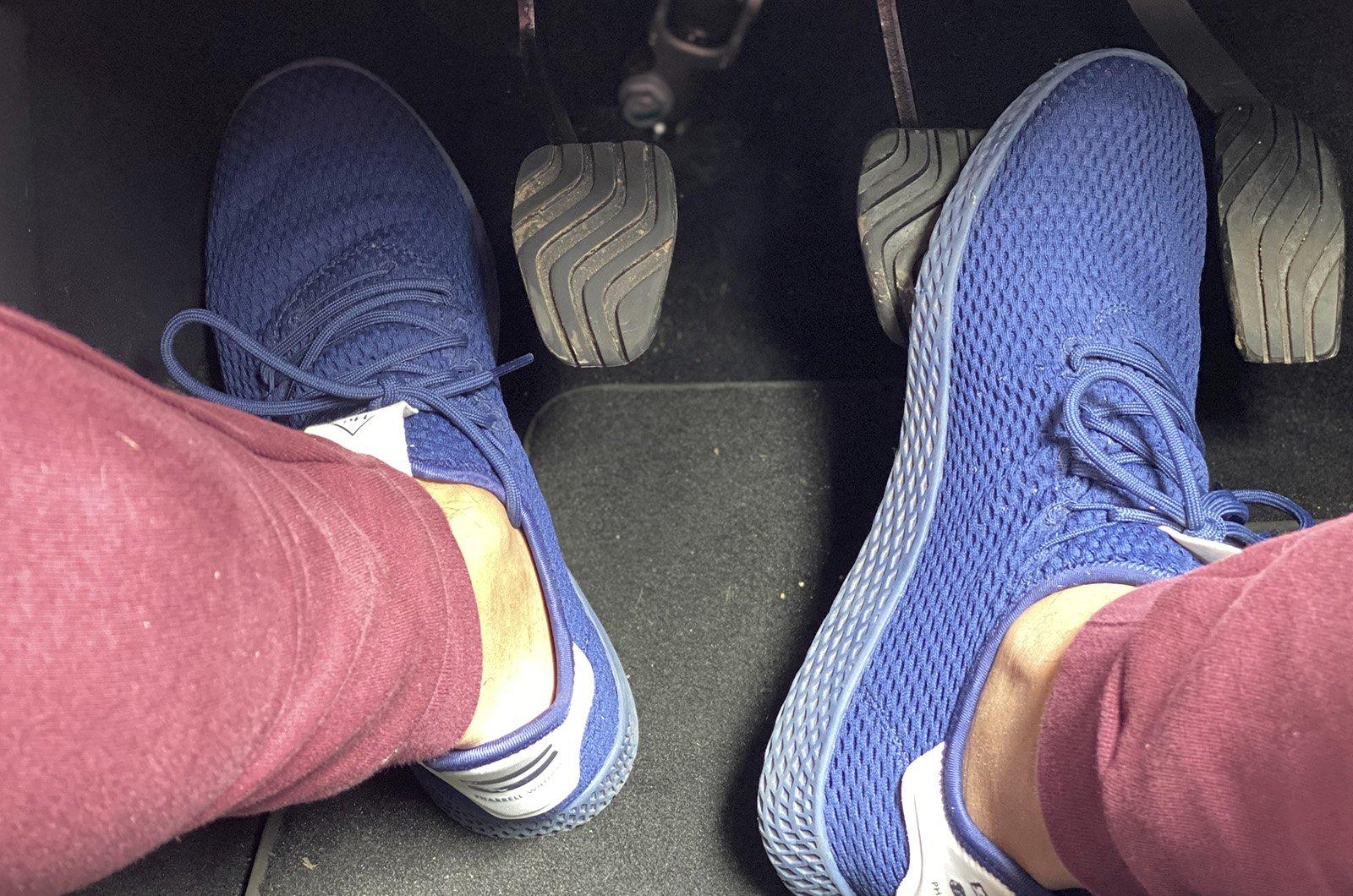 Nissan Juke pedals
