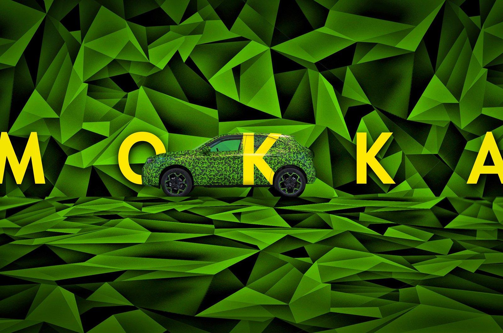 Camouflaged 2021 Vauxhall Mokka