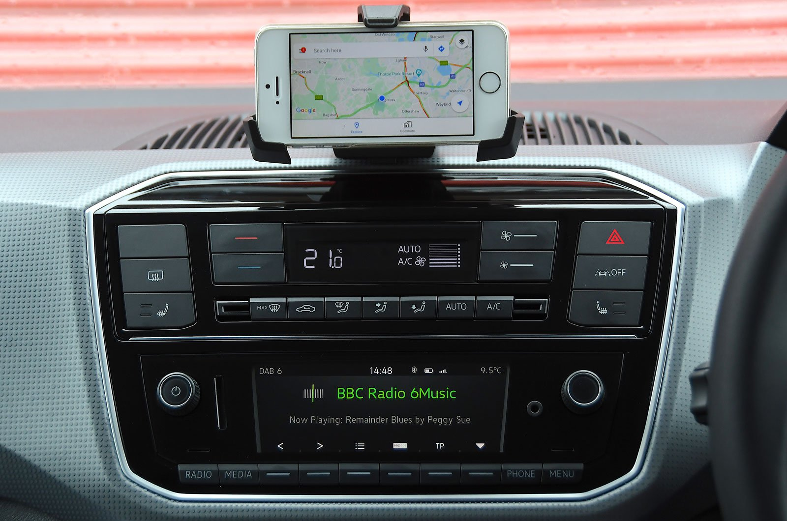 Infotainment test Citigo