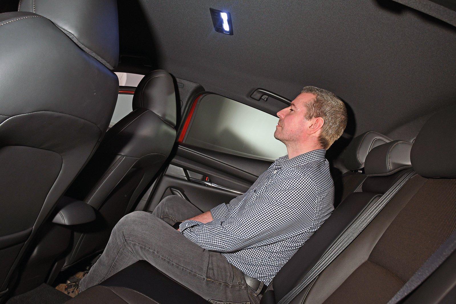 Mazda 3 rear head room