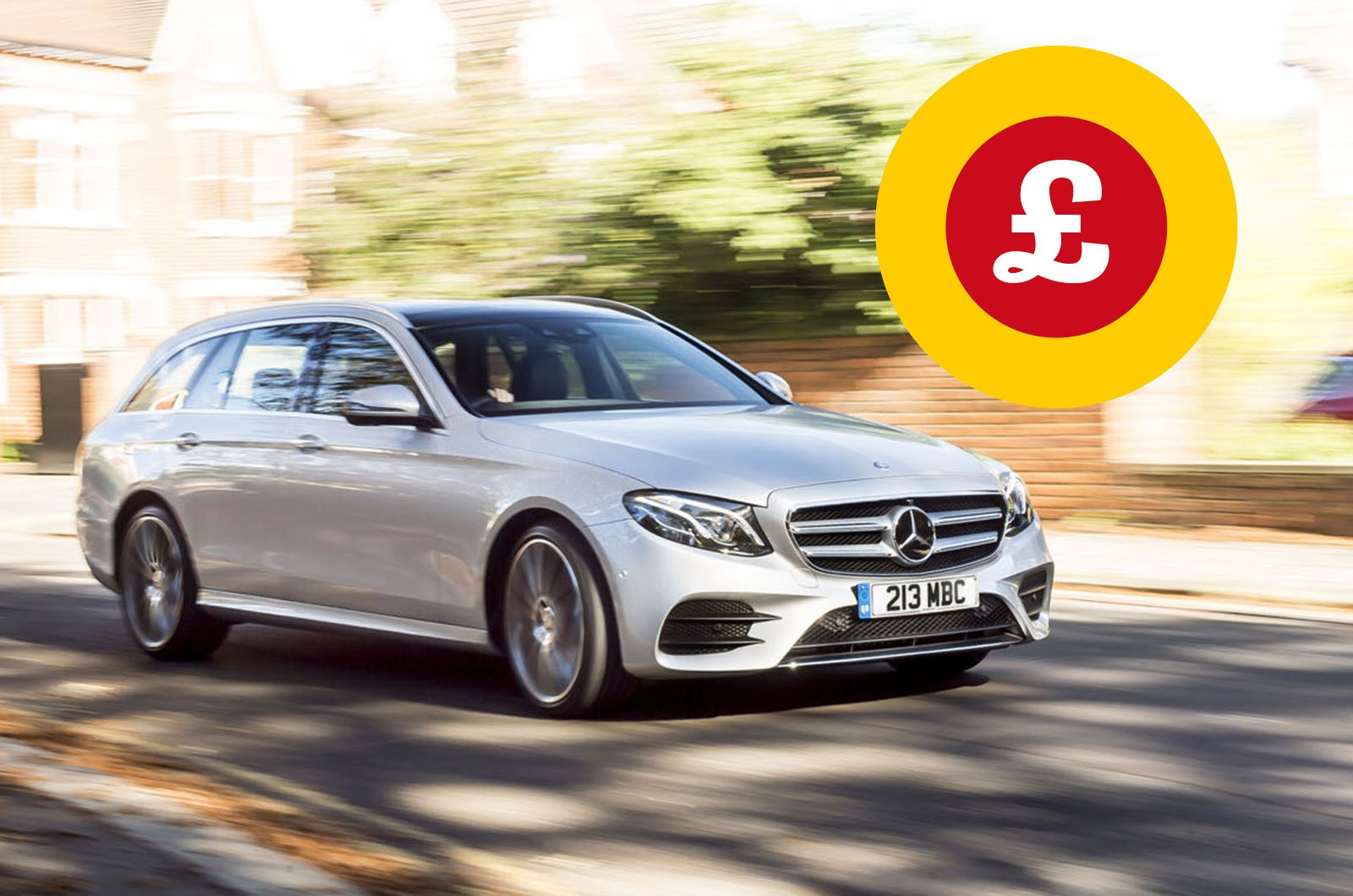 Mercedes E-Class Estate with Target Price logo