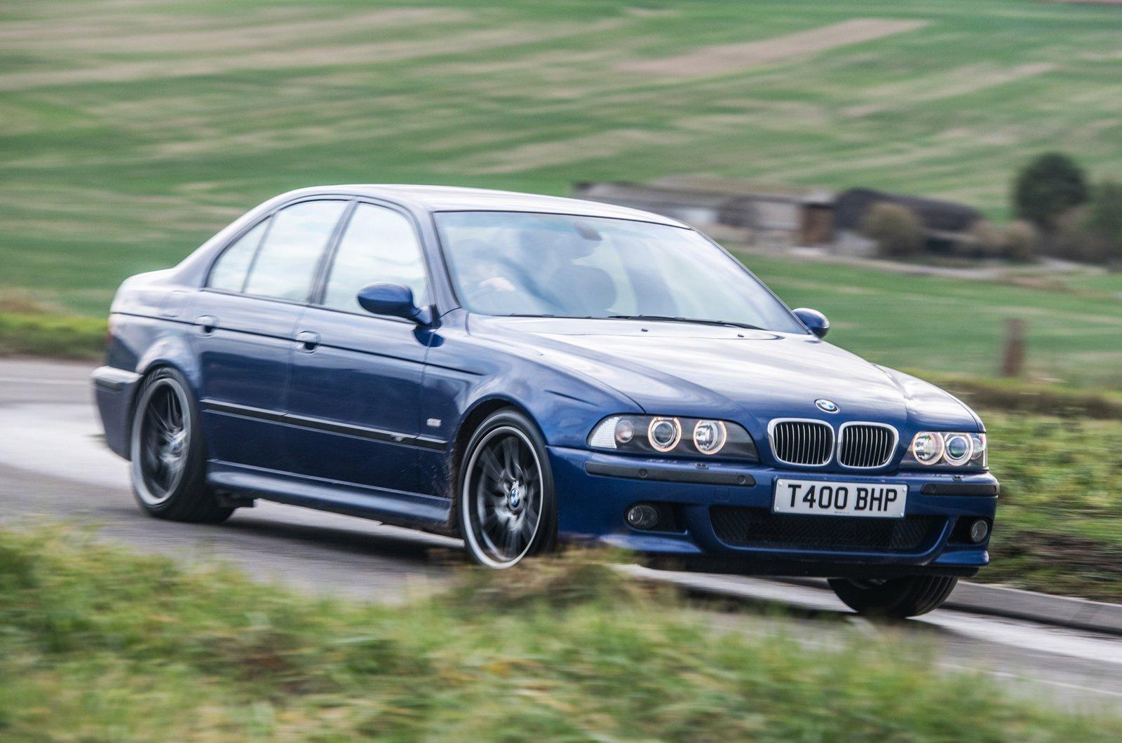 E39 BMW M5 front