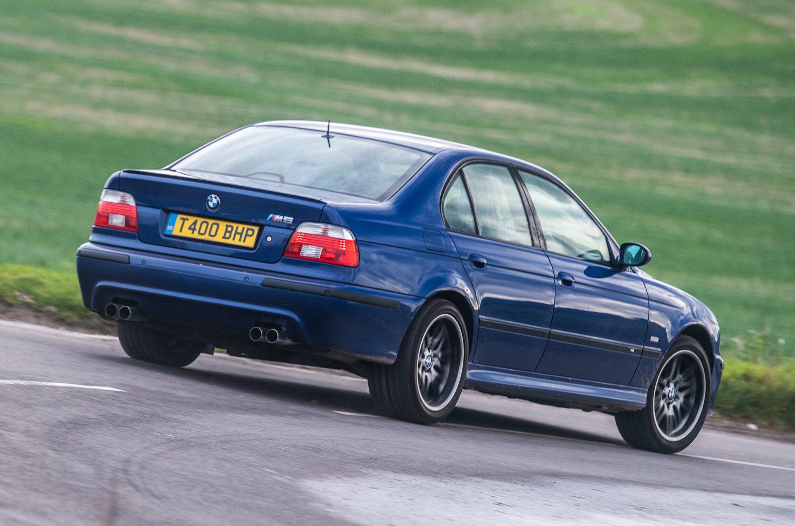 E39 BMW M5 rear
