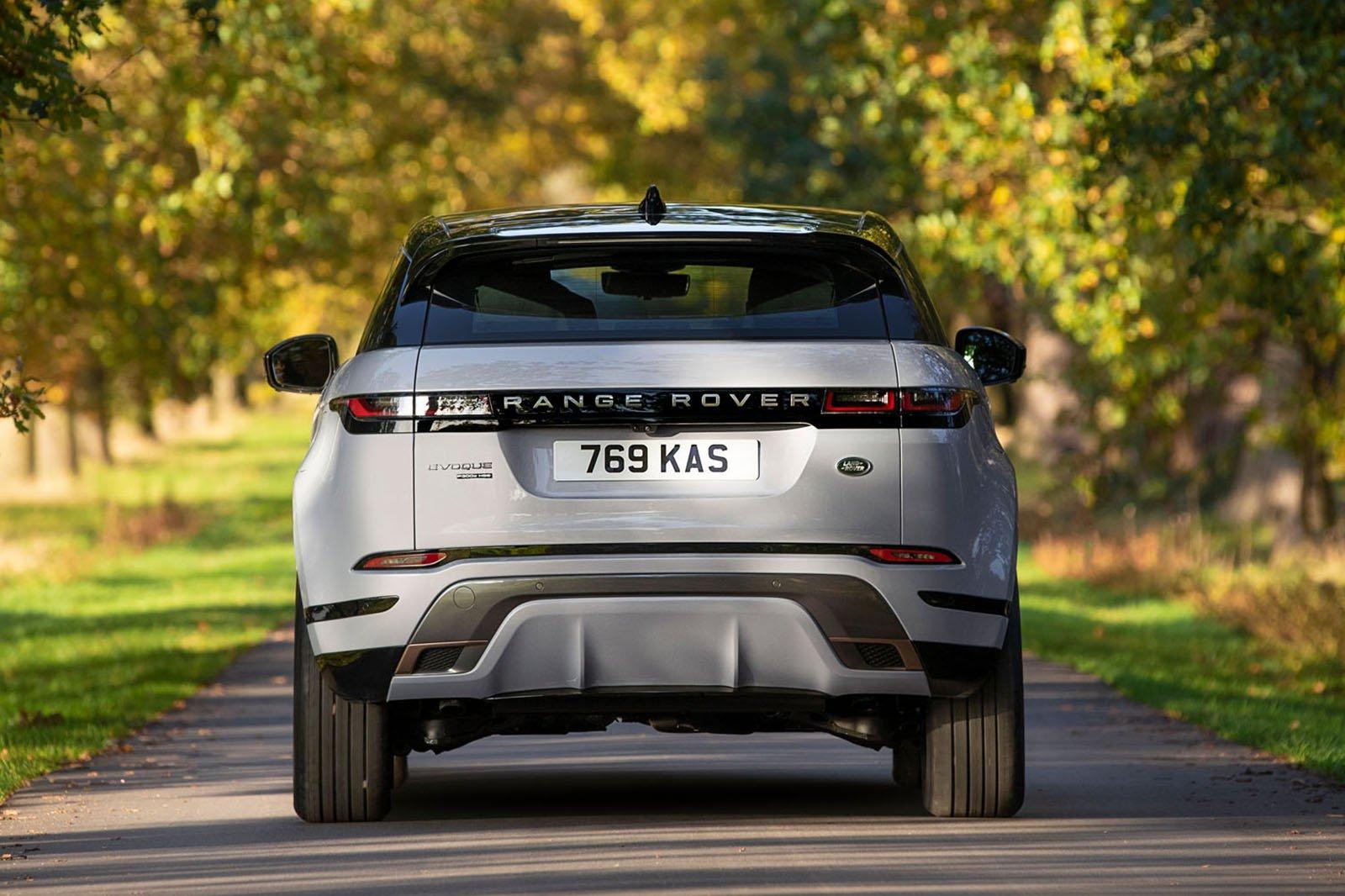 2020 Range Rover Evoque P300e rear