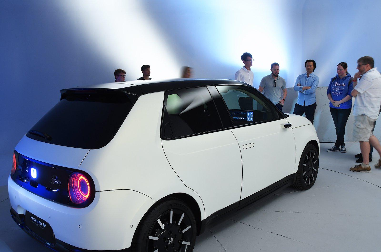 Honda E reader test team - rear group