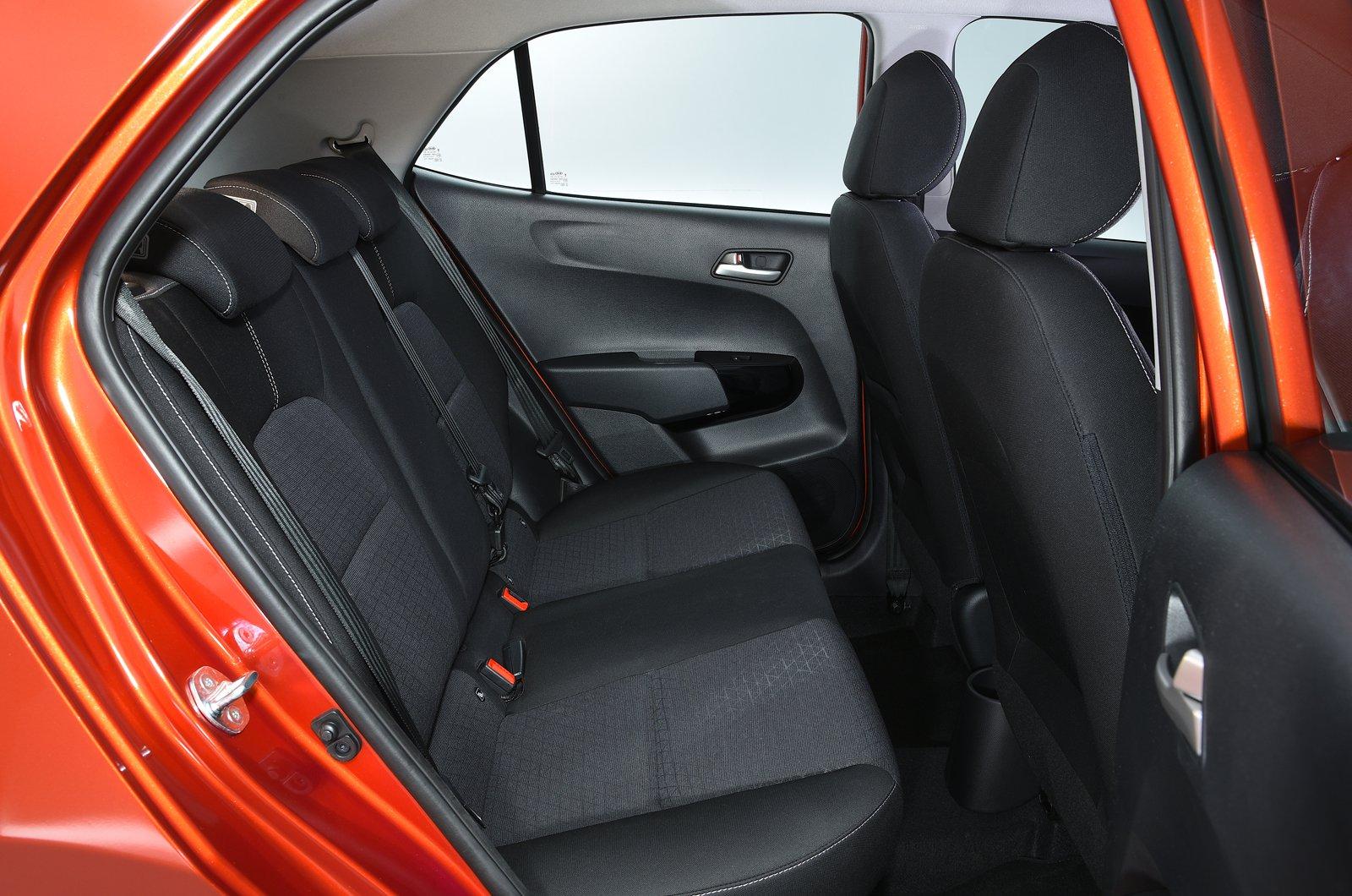 Kia Picanto rear seats - 69-plate car