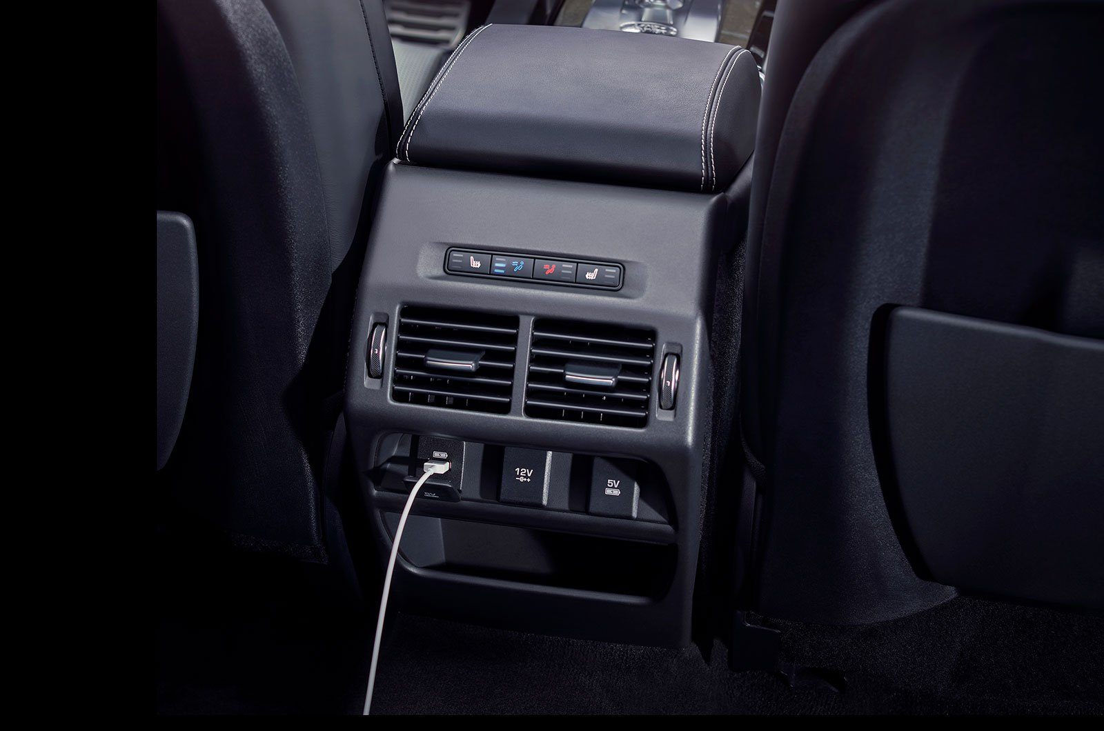 Land Rover Discovery Sport USB charging