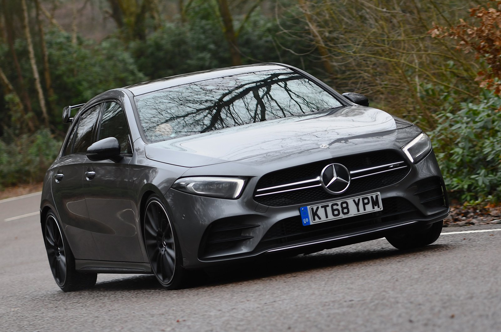 Mercedes-AMG A35 front