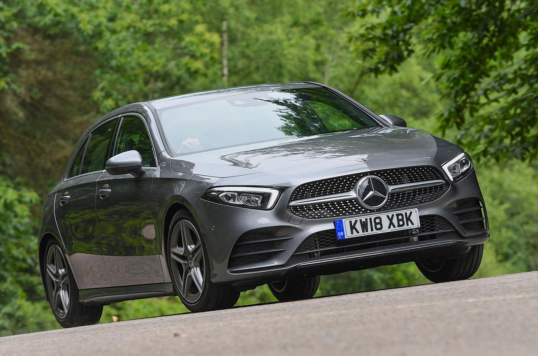 Mercedes A-Class front - grey