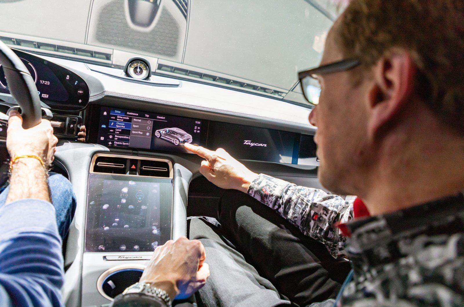 Porsche Taycan reader test team - Andrew Russell