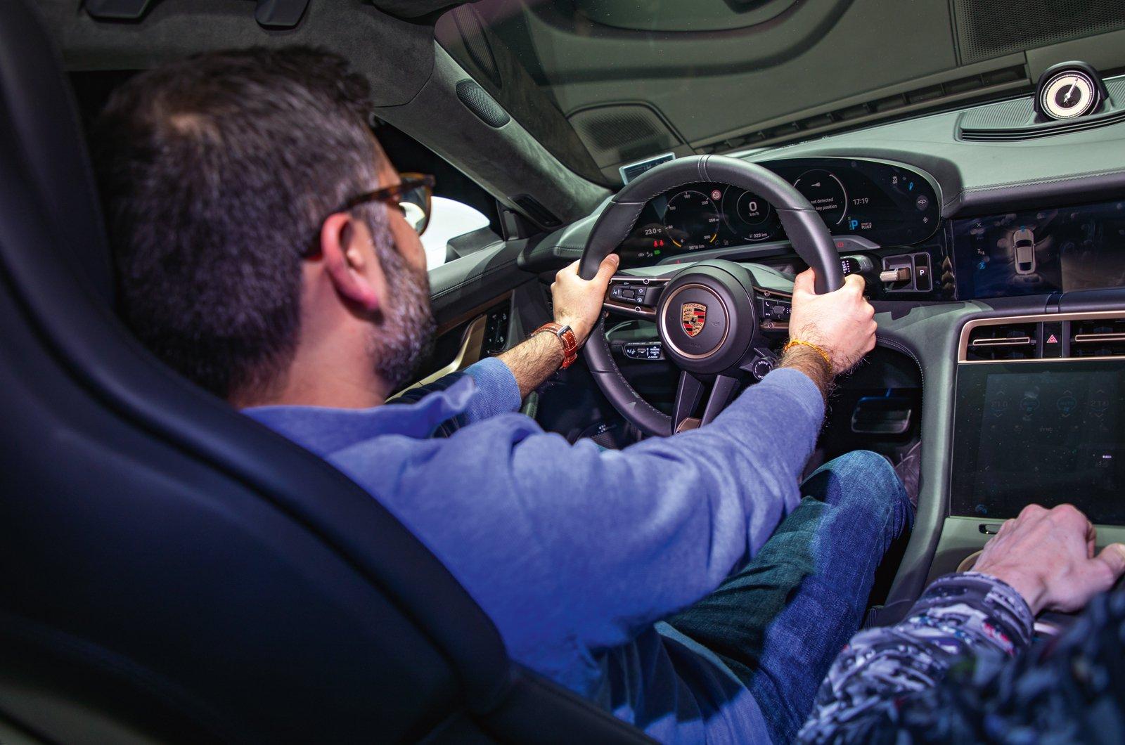Porsche Taycan reader test team - Anirudh Kapoor