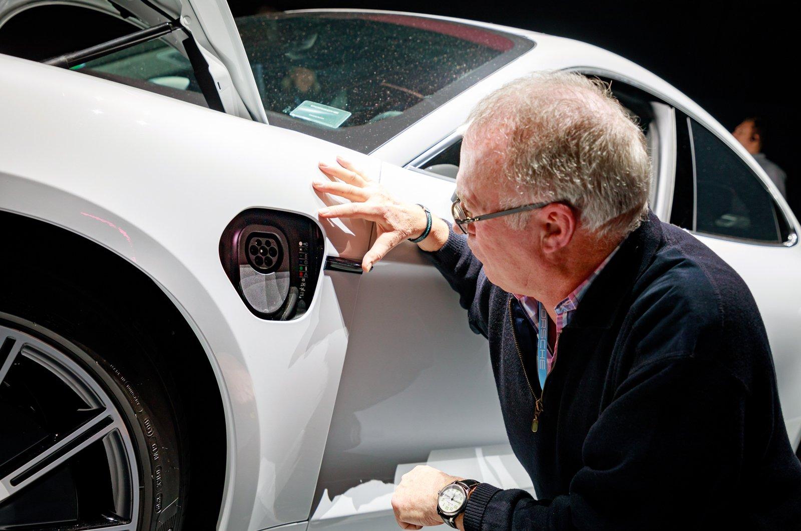 Porsche Taycan reader test team - Martyn Mellor