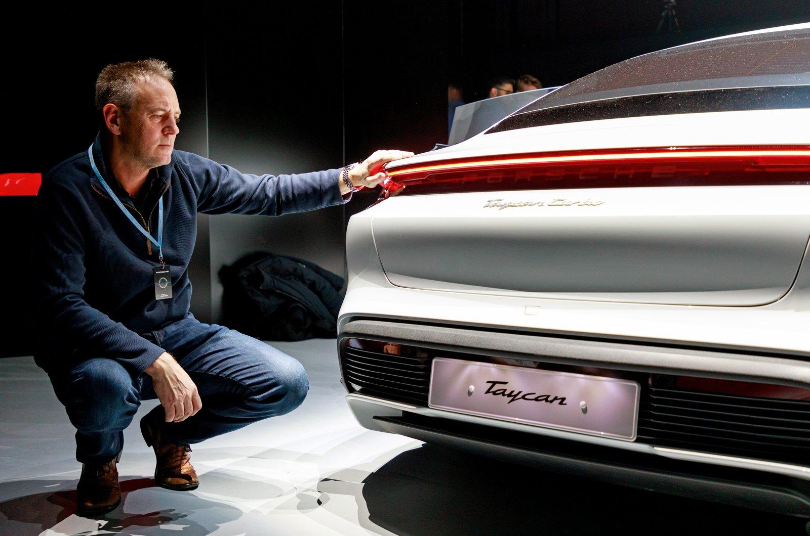 Porsche Taycan reader test team - Rob Skuse