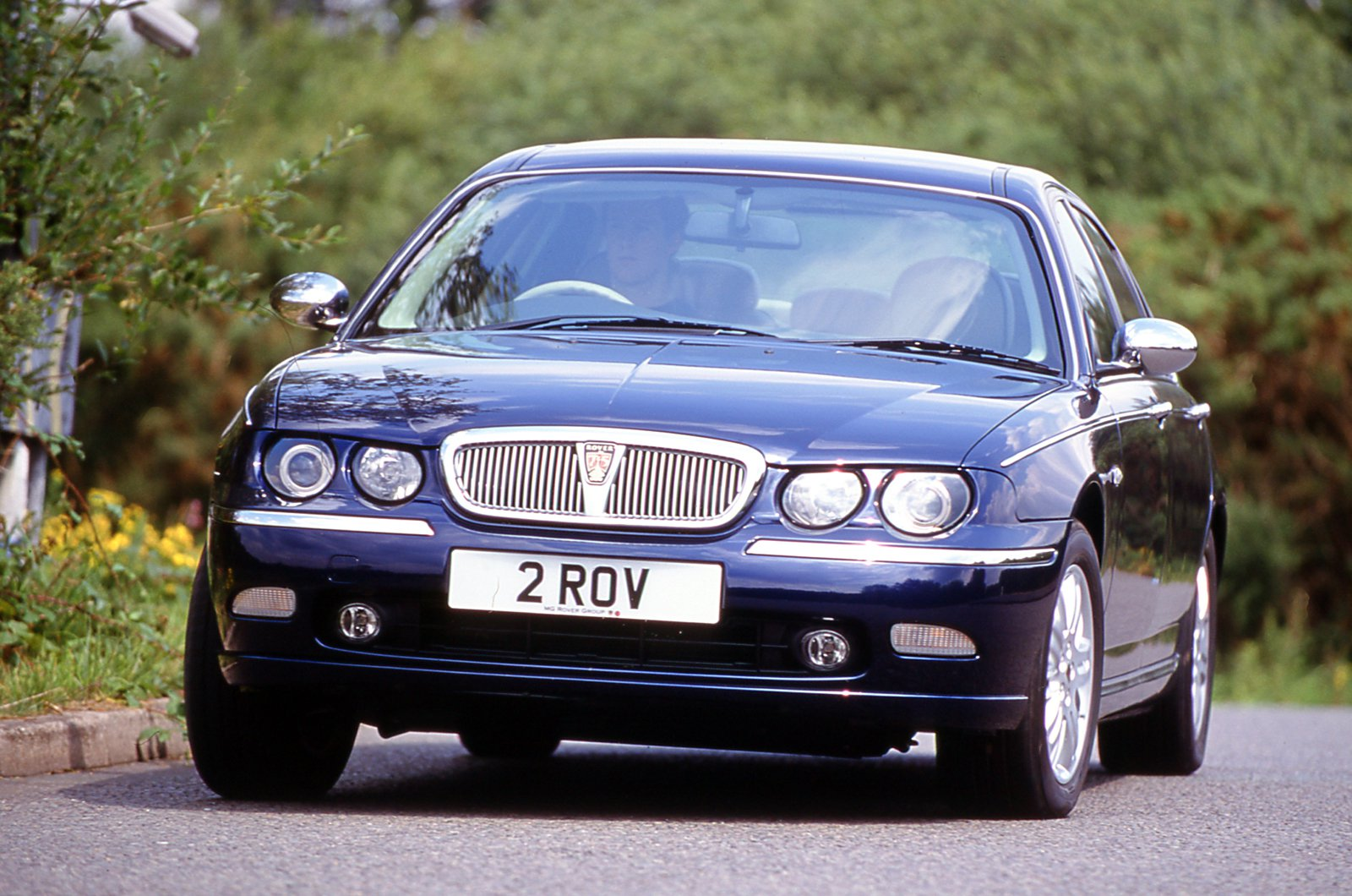Rover 75 front cornering