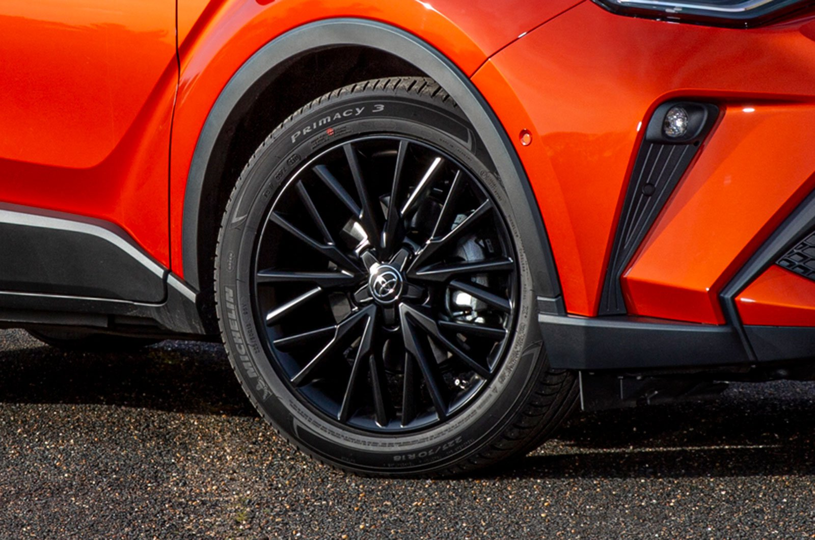 Toyota C-HR alloy wheels