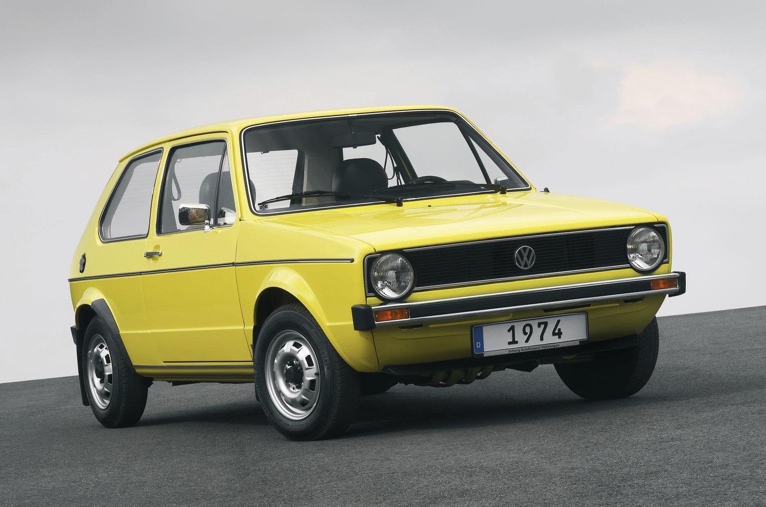 Volkswagen Golf Mk1 front static