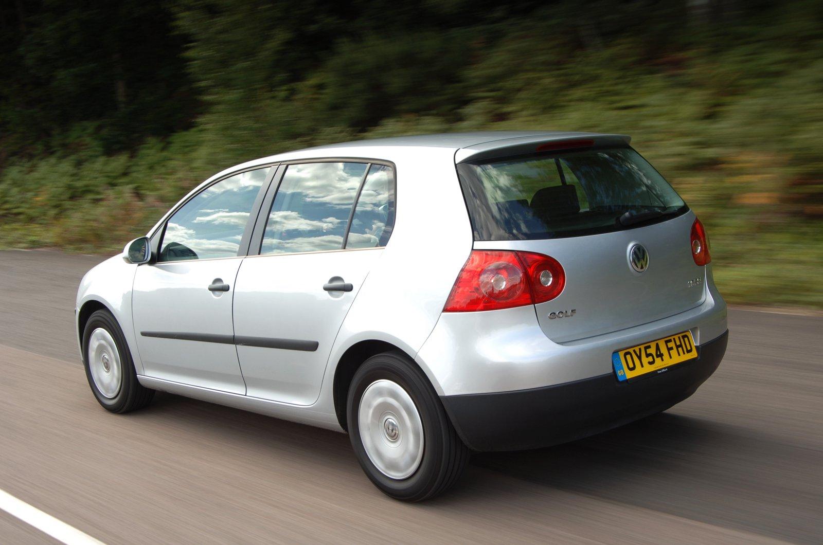 Volkswagen Golf Mk5 rear tracking