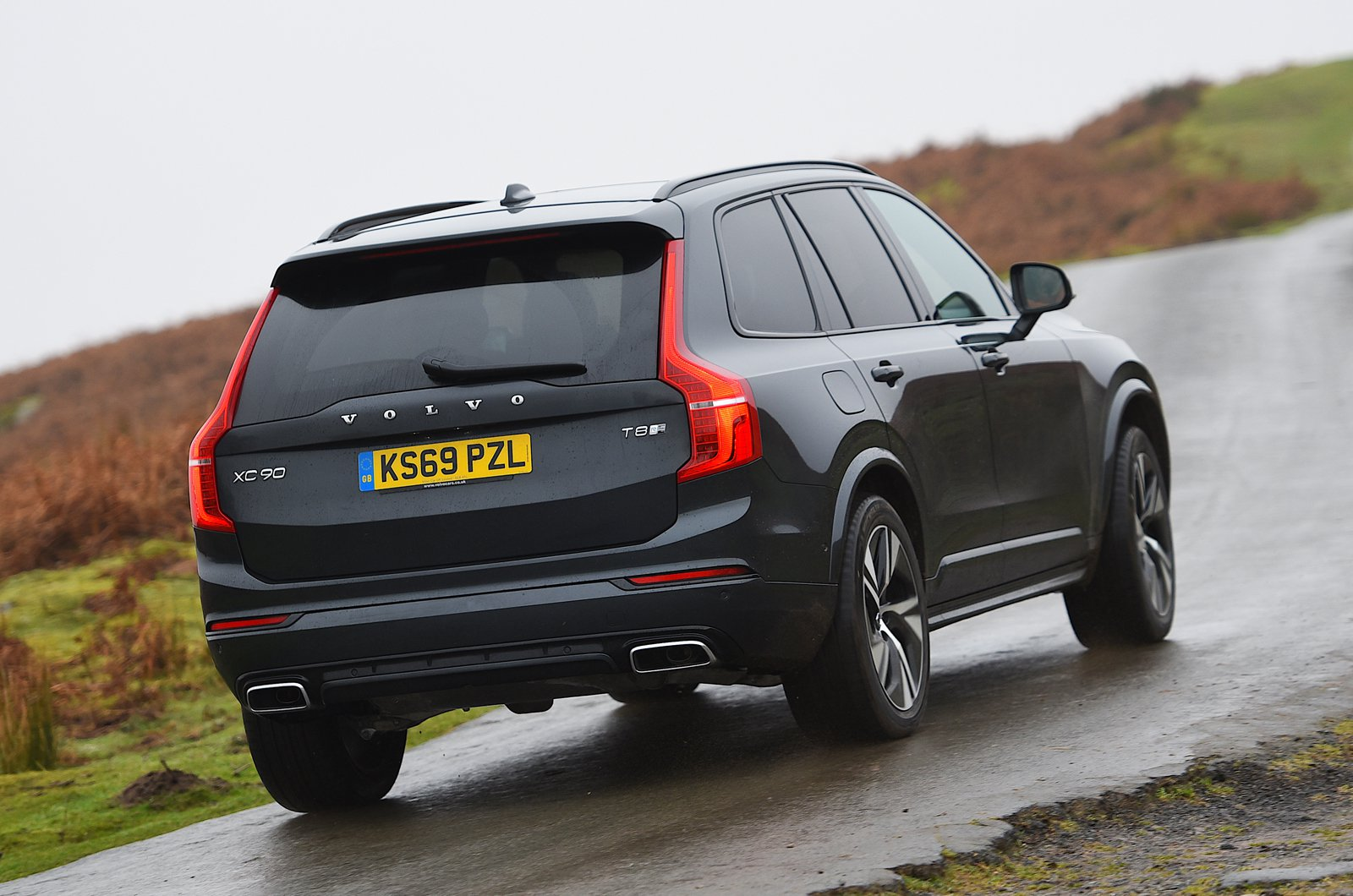 Volvo XC90 T8 rear cornering - 69-plate car