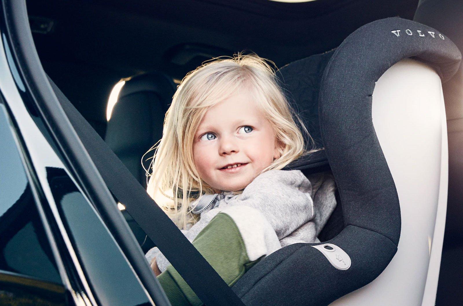 Volvo XC40 child lock