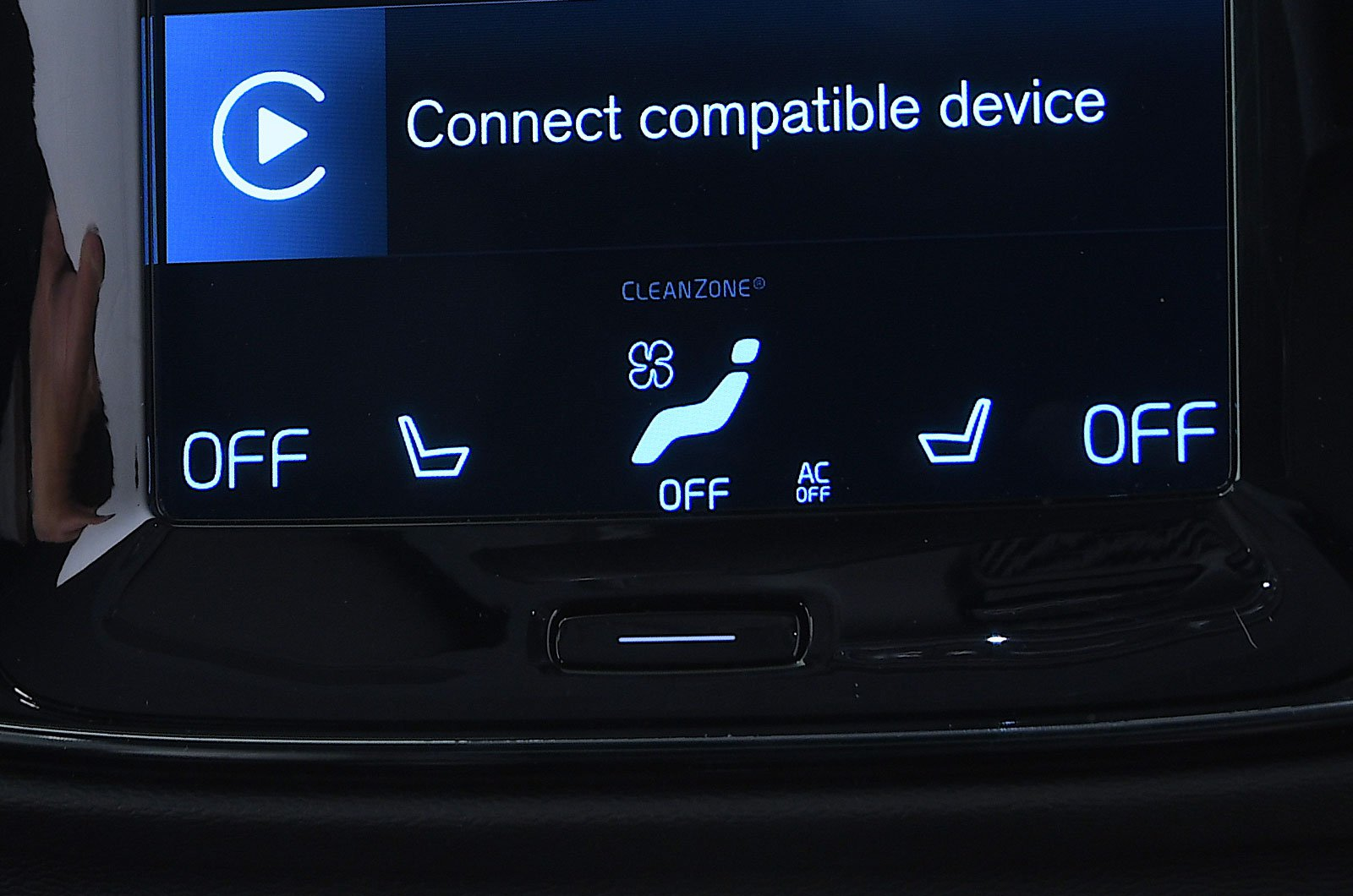 Volvo XC40 heated seats