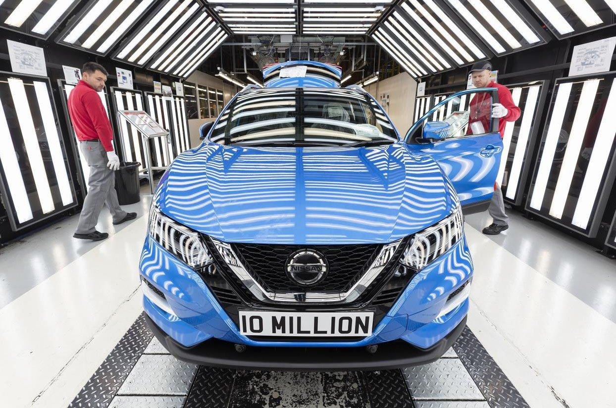 10 millionth car built at the Nissan Sunderland factory