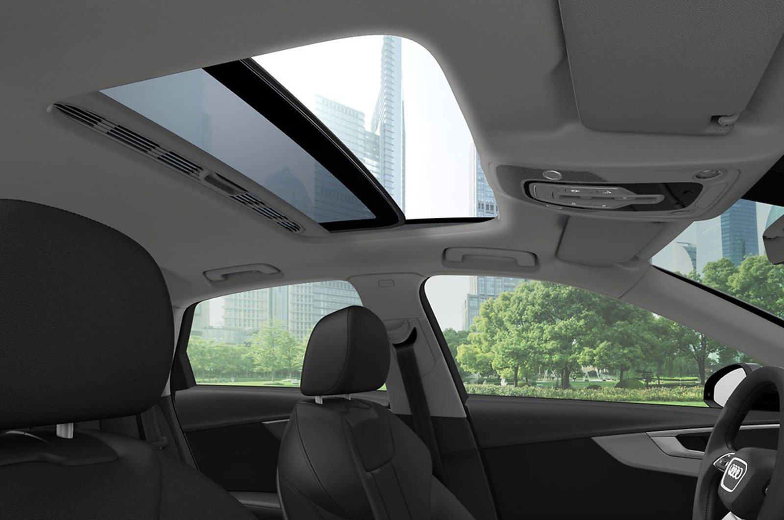 Audi A4 sunroof