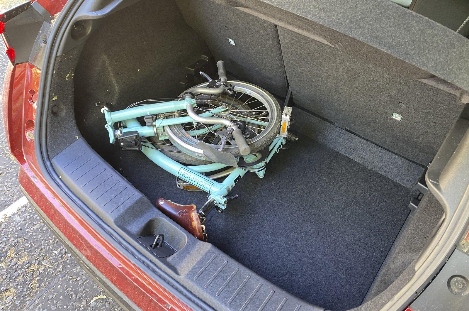 Nissan Juke brompton boot