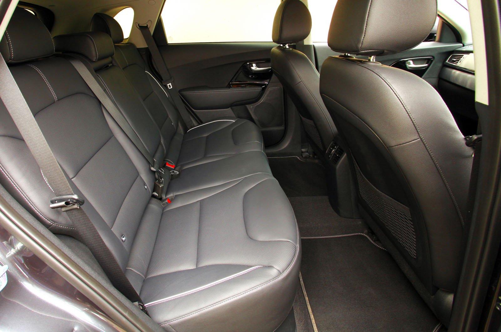 Kia e-Niro rear seats