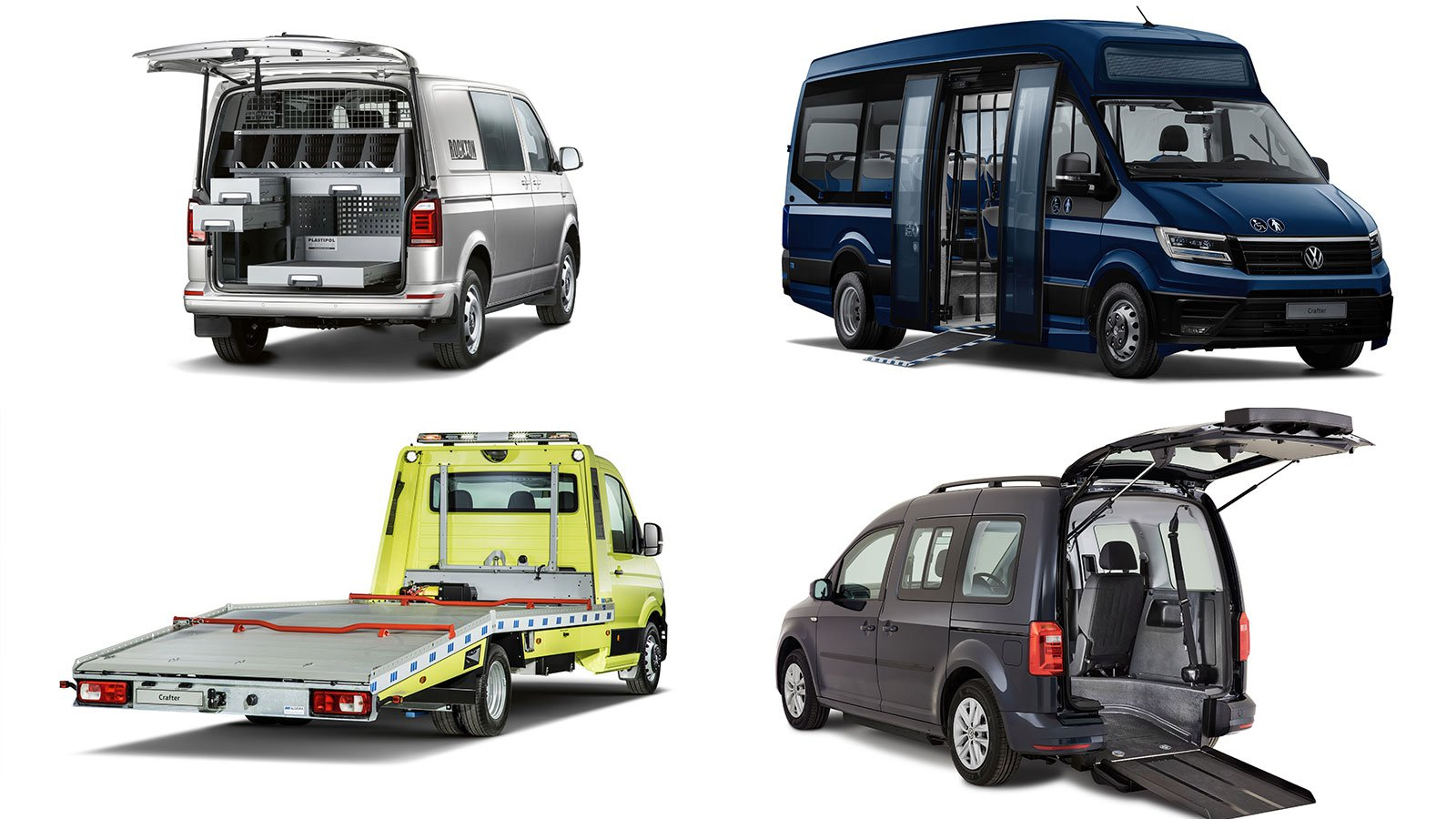 Volkswagen Commercial Vehicles has a range of conversion options for van owners