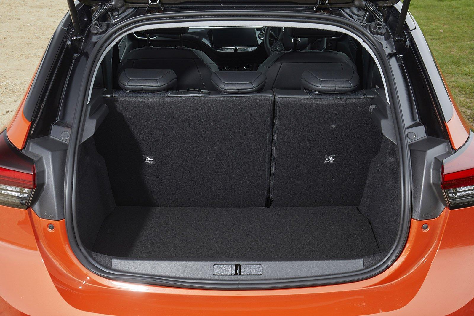 Vauxhall Corsa-e 2020 RHD boot