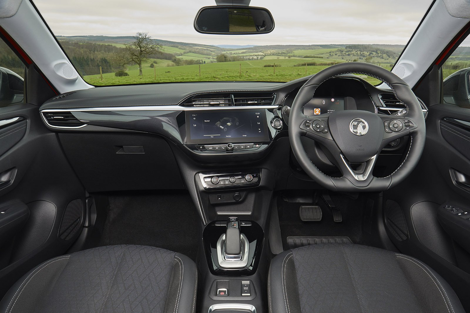Vauxhall Corsa-e 2020 RHD dashboard