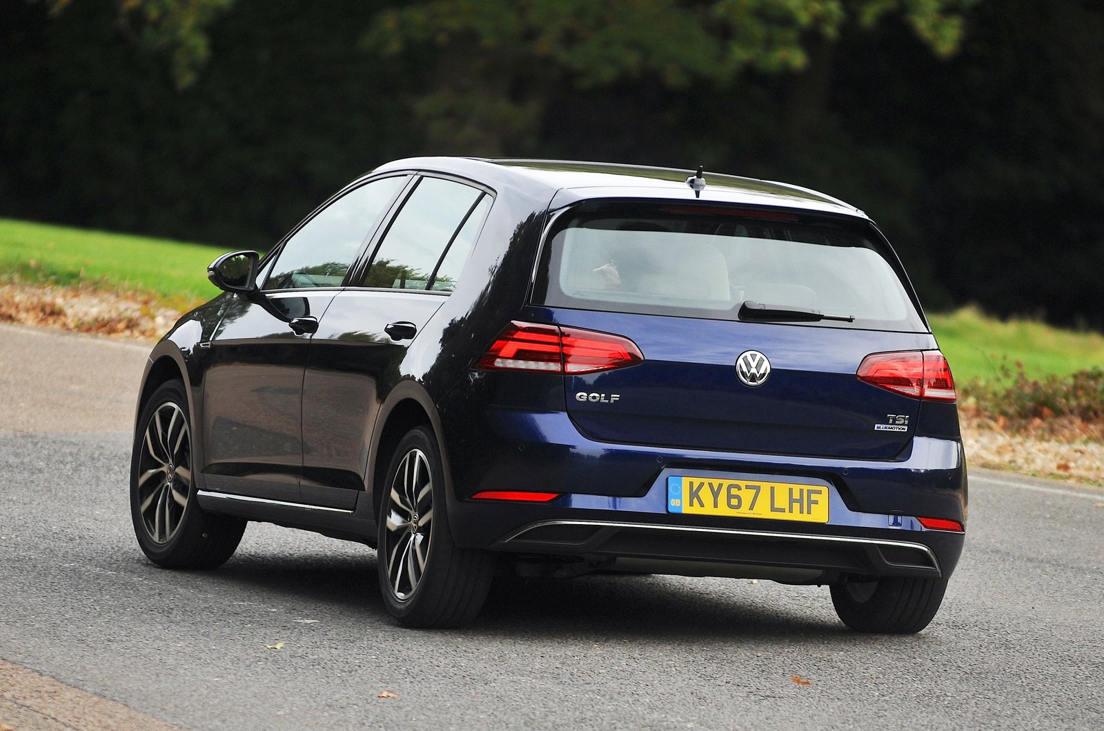 Volkswagen Golf rear - 67-plate car