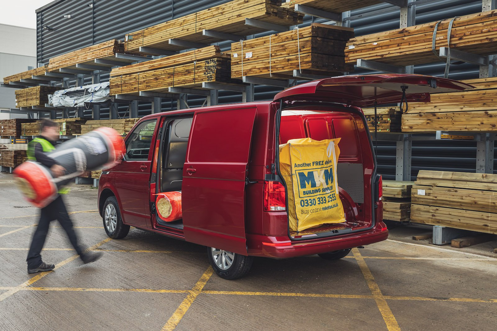 It might be worth thinking about how a few modifications or accessories could make loading your van easier