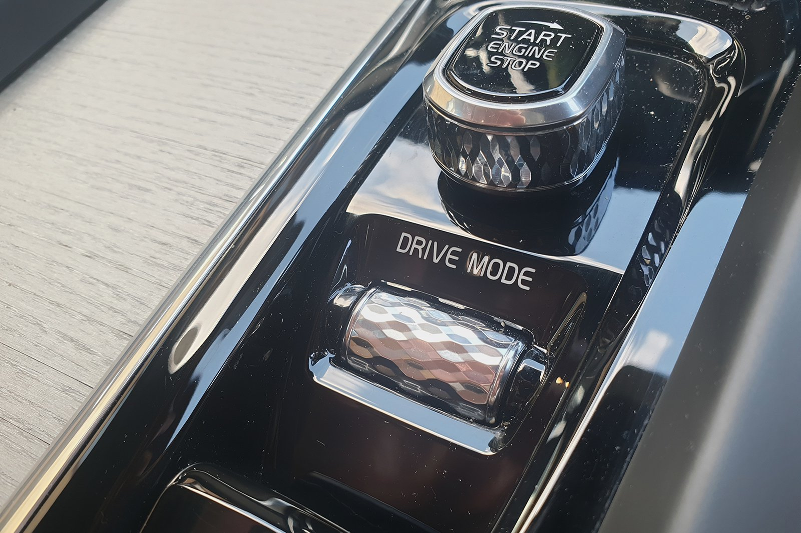 Volvo S60 driving mode control