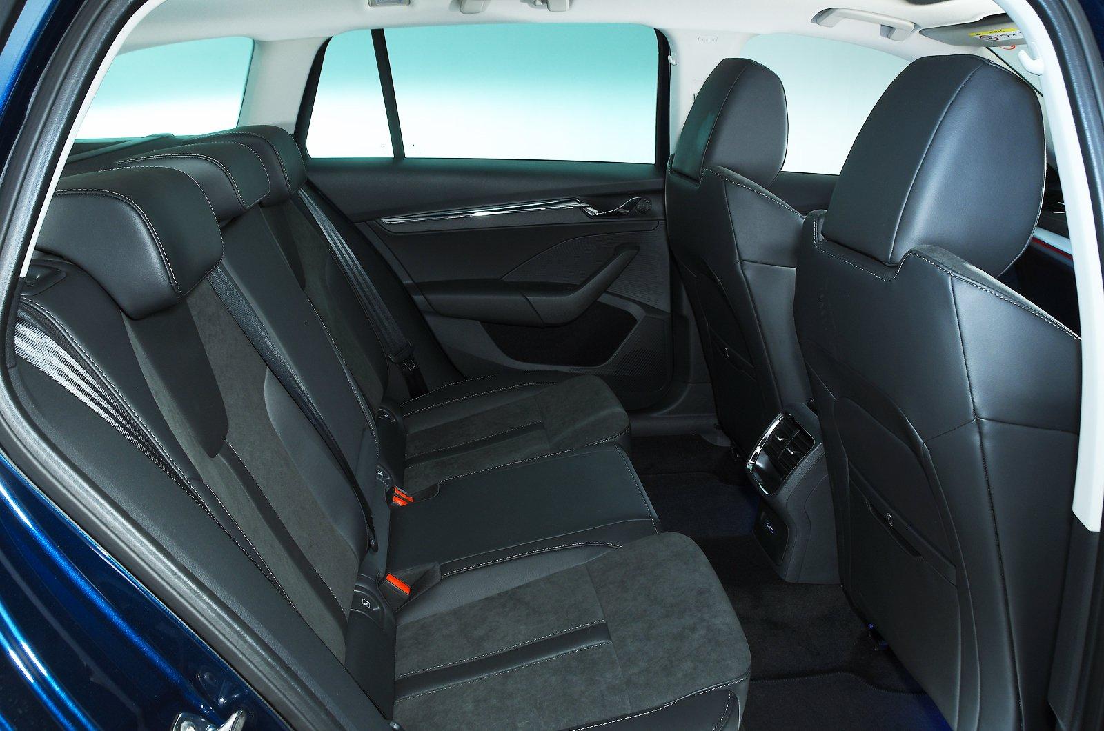 Skoda Octavia Estate 2021 rear seats