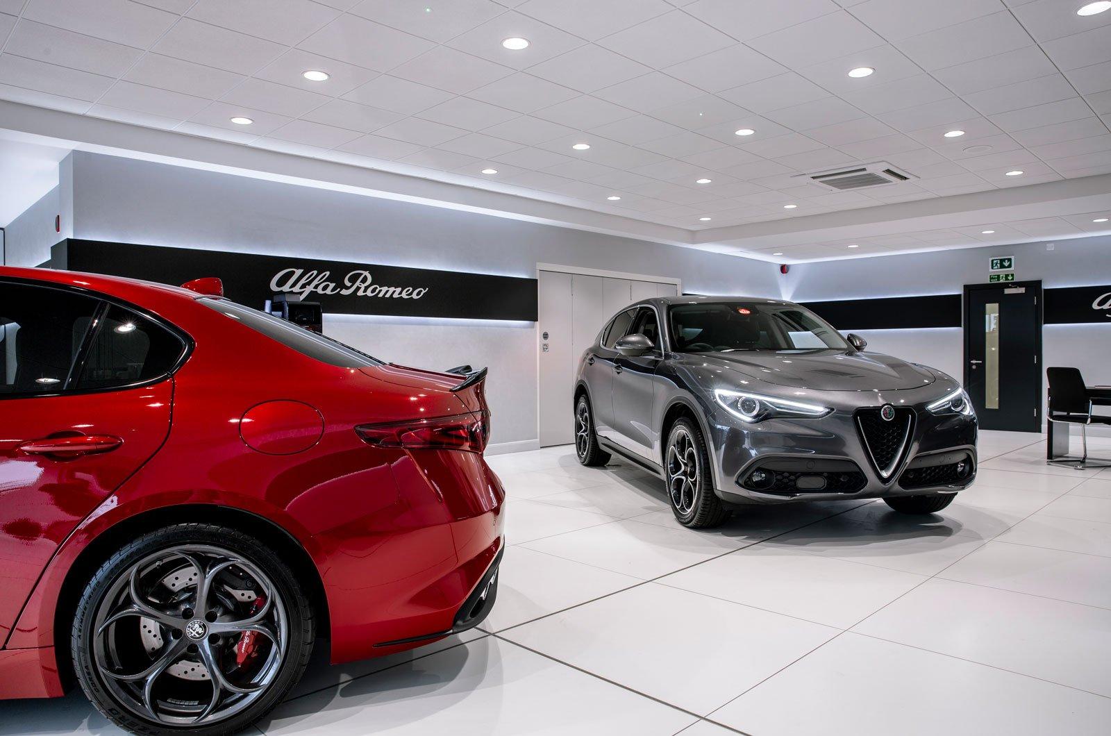 Alfa Romeo showroom