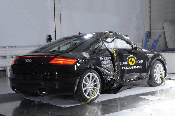 Audi TT Euro NCAP crash test
