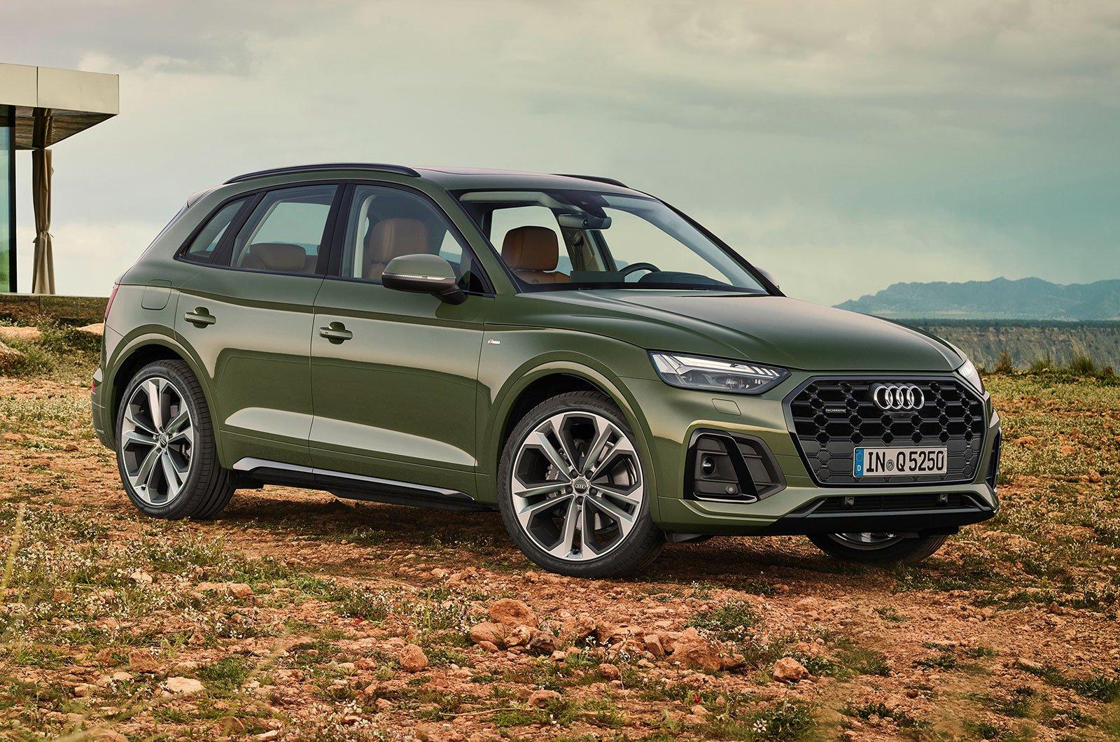 2020 Audi Q5 front