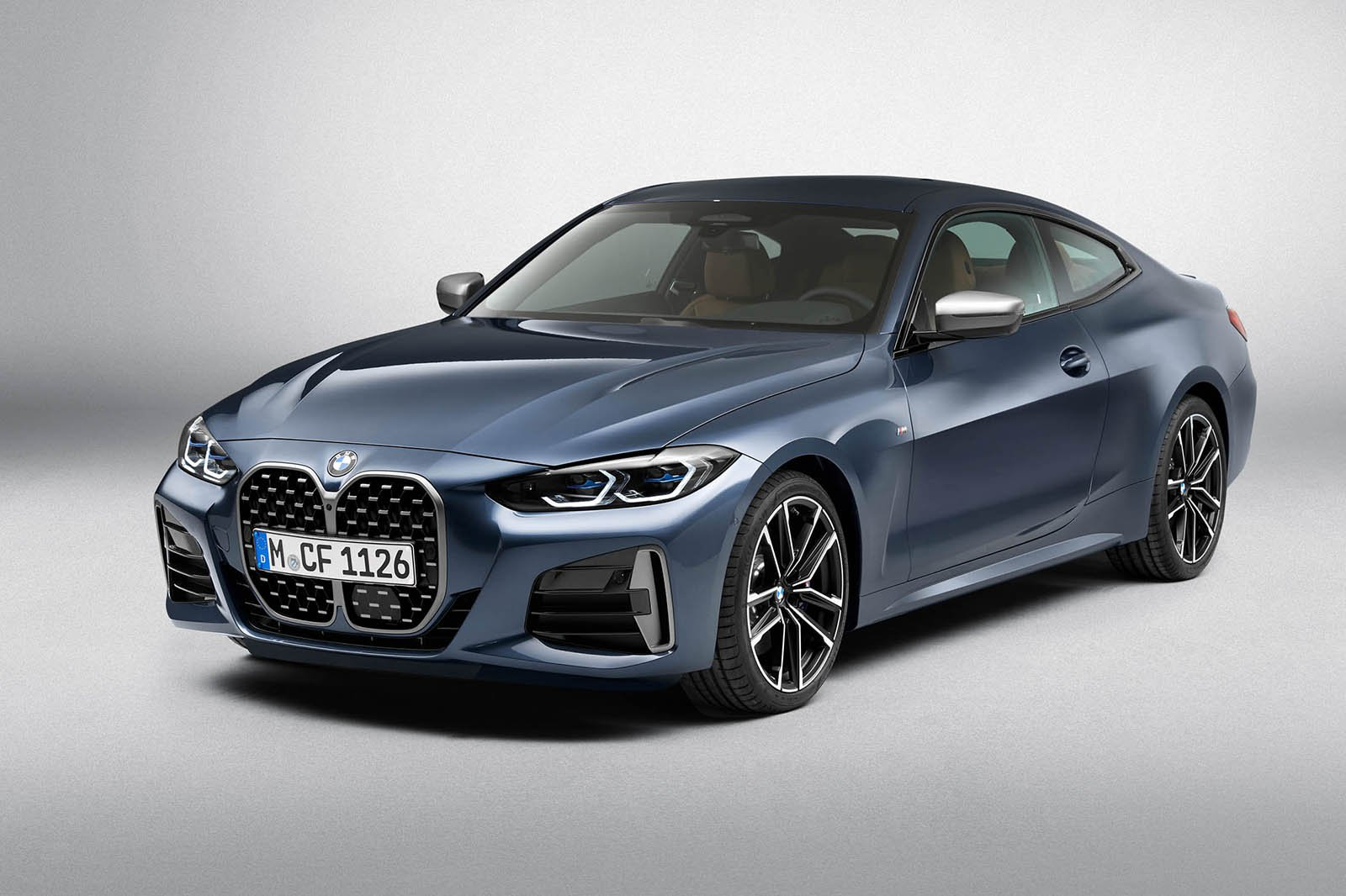 2020 BMW 4 Series front