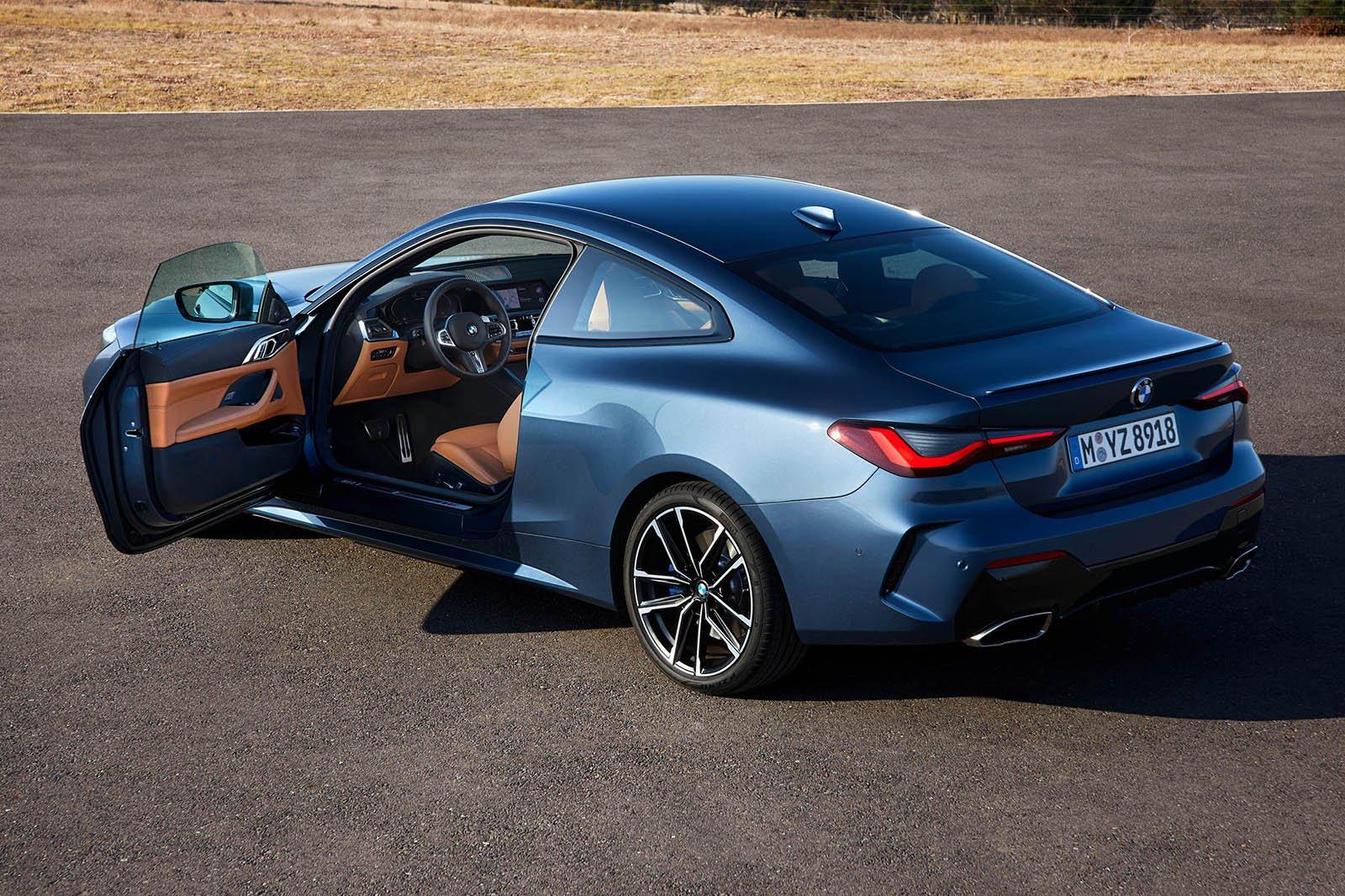 2020 BMW 4 Series rear