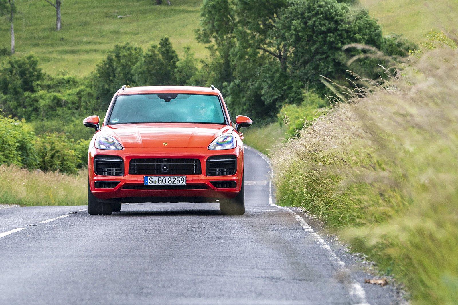2020 Porsche Cayenne GTS front